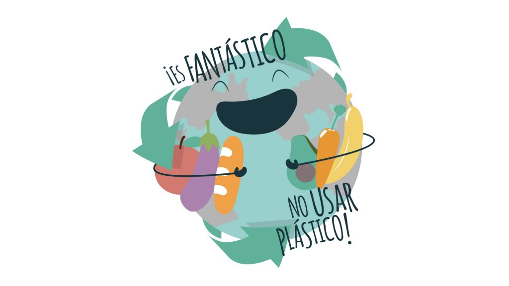 ES FANTÁSTICO NO USAR PLÁSTICO