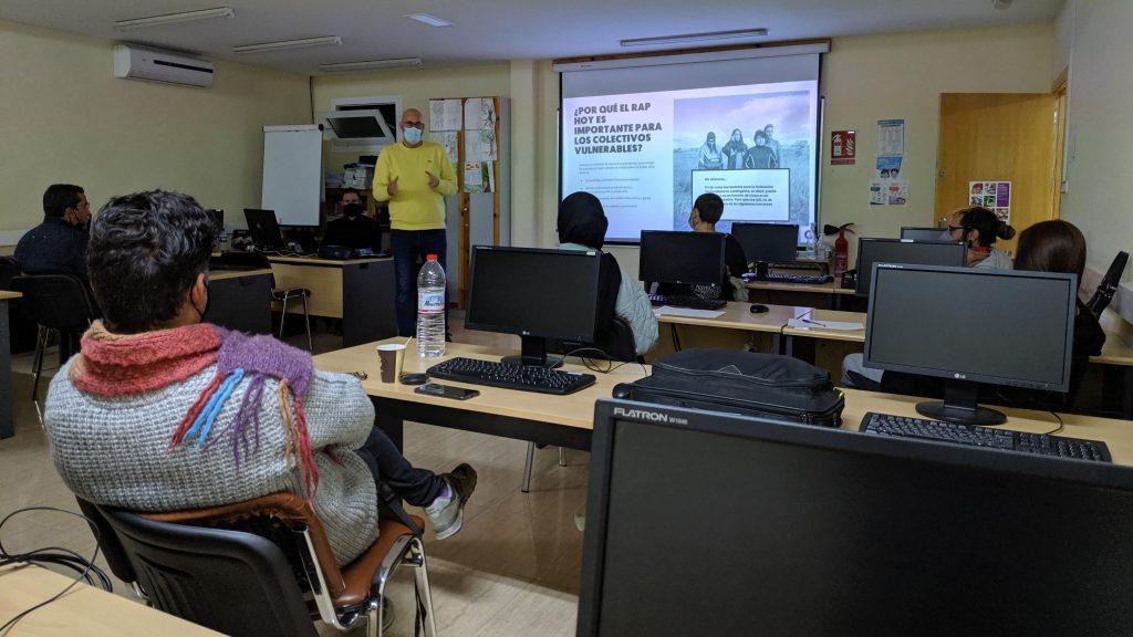 ASOCIACIÓN GARAJE HABLA DE RAP EDUCATIVO EN MURCIA