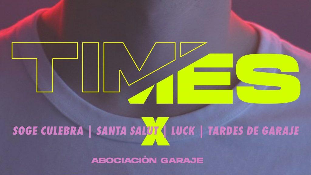 """SON TIEMPOS DE """"TIMES"""" CON ASOCIACIÓN GARAJE Y LEVI'S"""